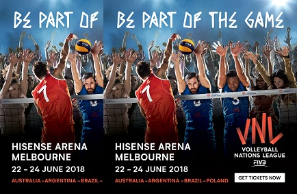 FIVB Nations League in Australia!!!